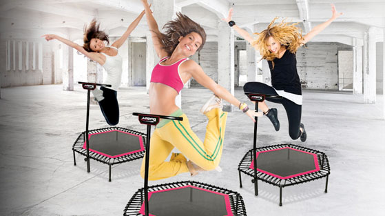Jumping Fitness + Gymflow